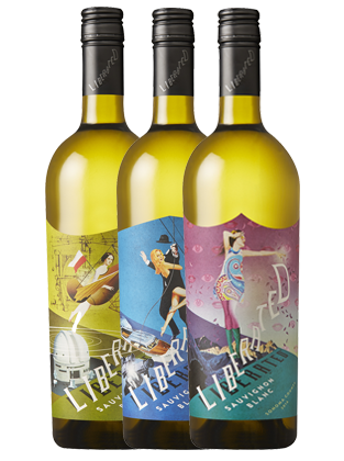 Liberated Sauvignon Blanc 3 bottles